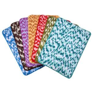 Factory Price Water-absorbing Wholesale  Non-slip Soft Door Bath Mat Pet Friendly Wholesale