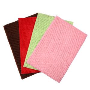 Custom Absorption Chenille Floor Door Mat Ultra Soft Indoor Modern Area Rugs Fluffy Carpeta