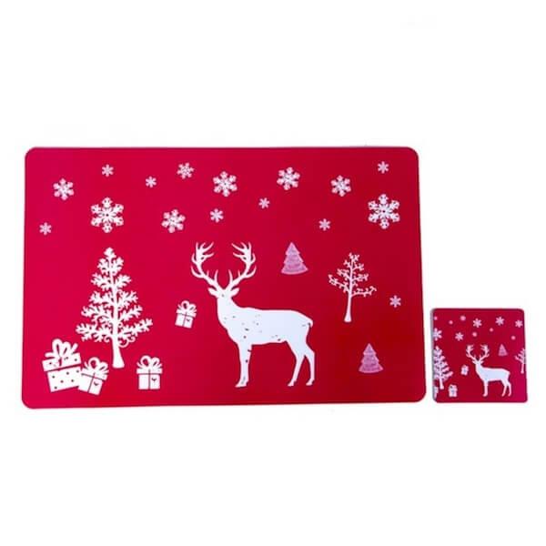 christmats table mats