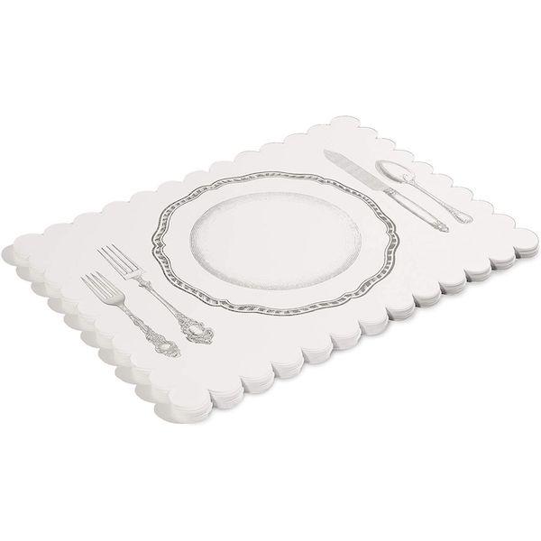 disposable paper placemats