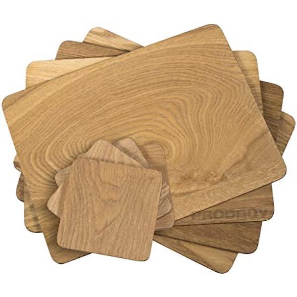 wooden placemats wholesale
