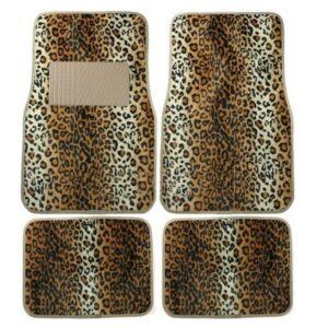 Personalized Leopard Print Car Mats wholesale